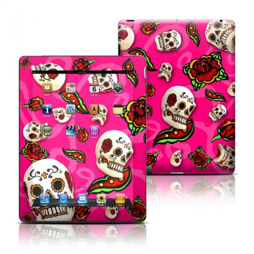 Pink Scatter iPad Skin