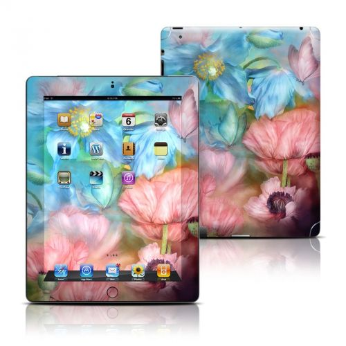 Poppy Garden iPad 3rd & 4th Gen Skin