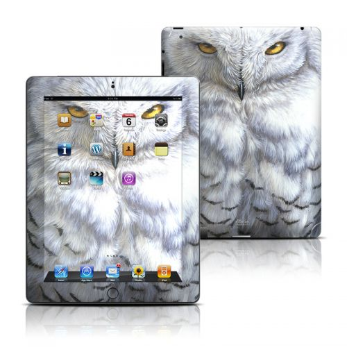 Snowy Owl iPad 3rd & 4th Gen Skin