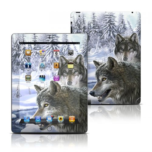 Snow Wolves iPad Skin