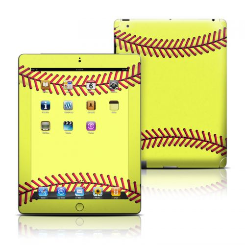 Softball iPad Skin
