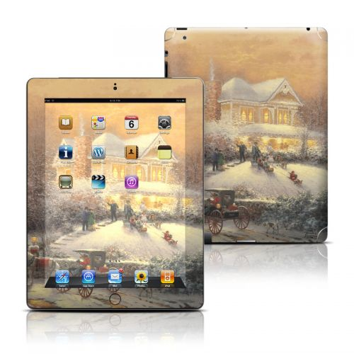 Victorian Christmas iPad 3rd & 4th Gen Skin