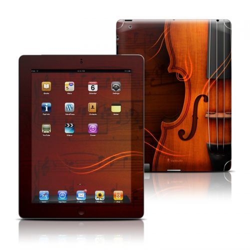 Violin iPad 3rd & 4th Gen Skin