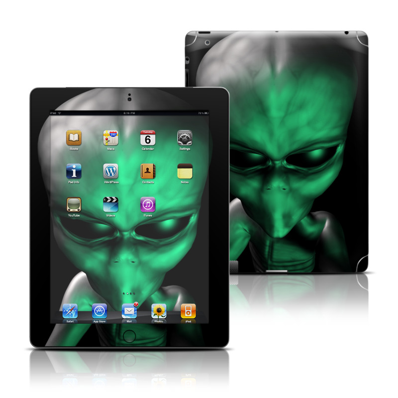 Abduction iPad 3rd & 4th Gen Skin
