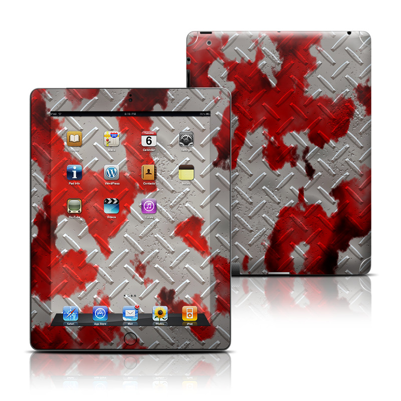 Accident iPad 3rd & 4th Gen Skin