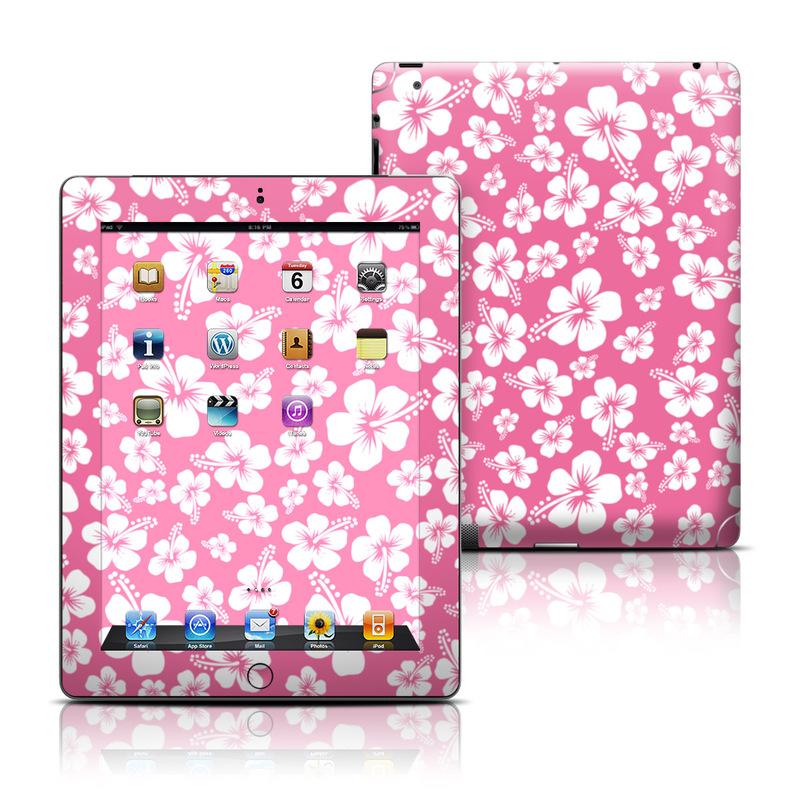 Aloha Pink iPad 3rd & 4th Gen Skin