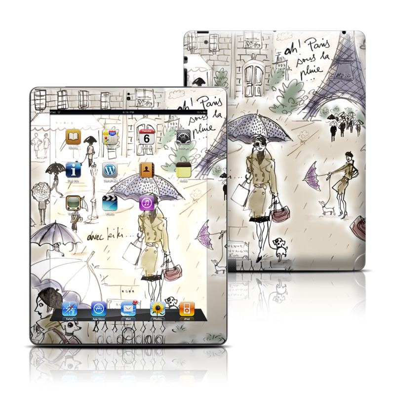 Ah Paris iPad 3rd & 4th Gen Skin