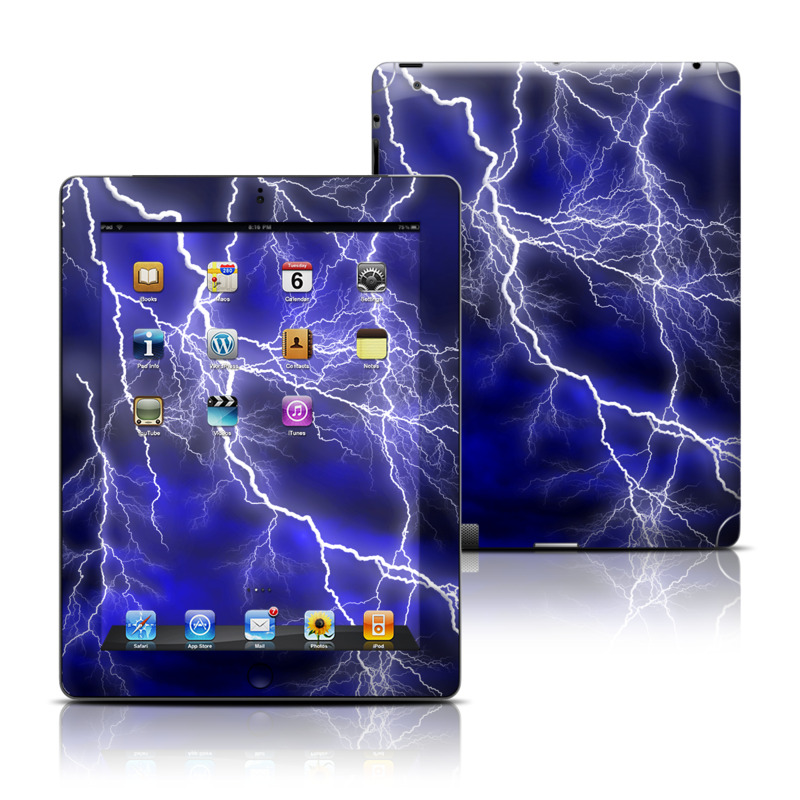 Apocalypse Blue iPad 3rd & 4th Gen Skin