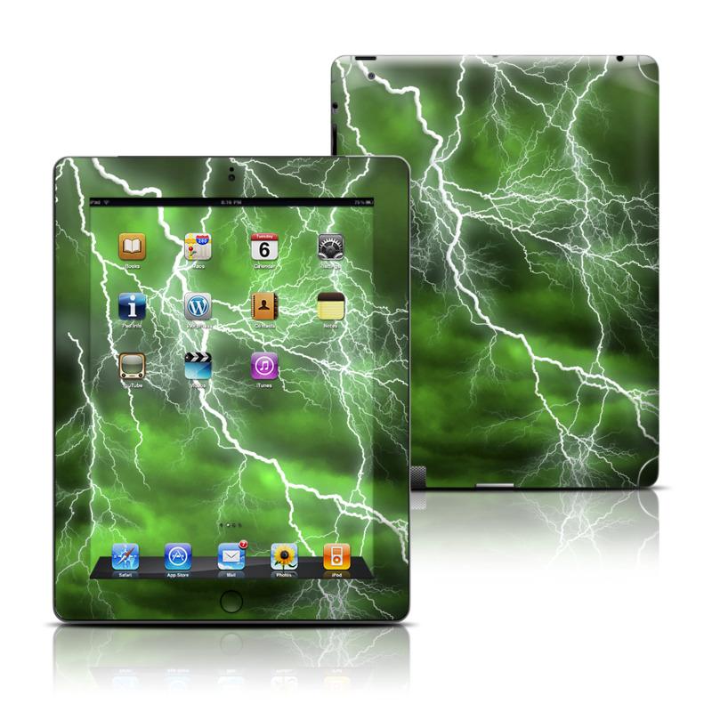 Apocalypse Green iPad 3rd & 4th Gen Skin