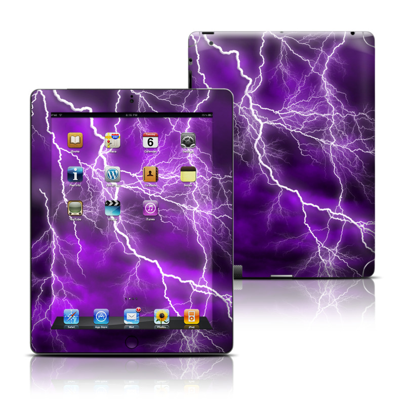 Apocalypse Violet Apple iPad Skin