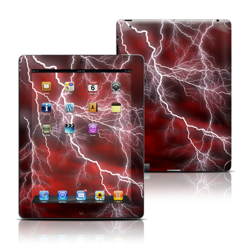 Apocalypse Red iPad 3rd & 4th Gen Skin