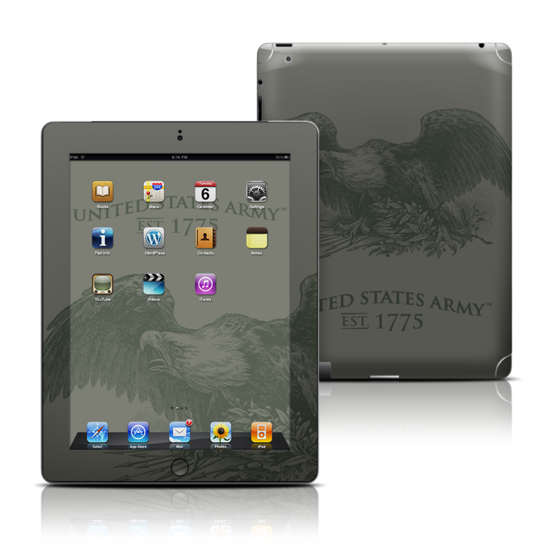 Army Crest Apple iPad Skin