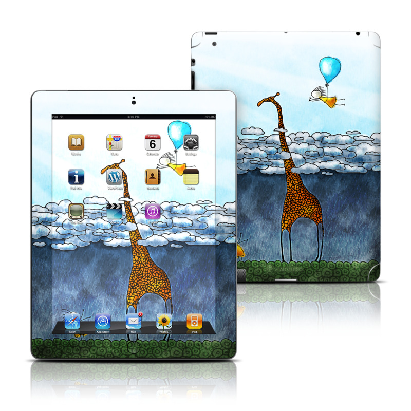 Above The Clouds Apple iPad Skin