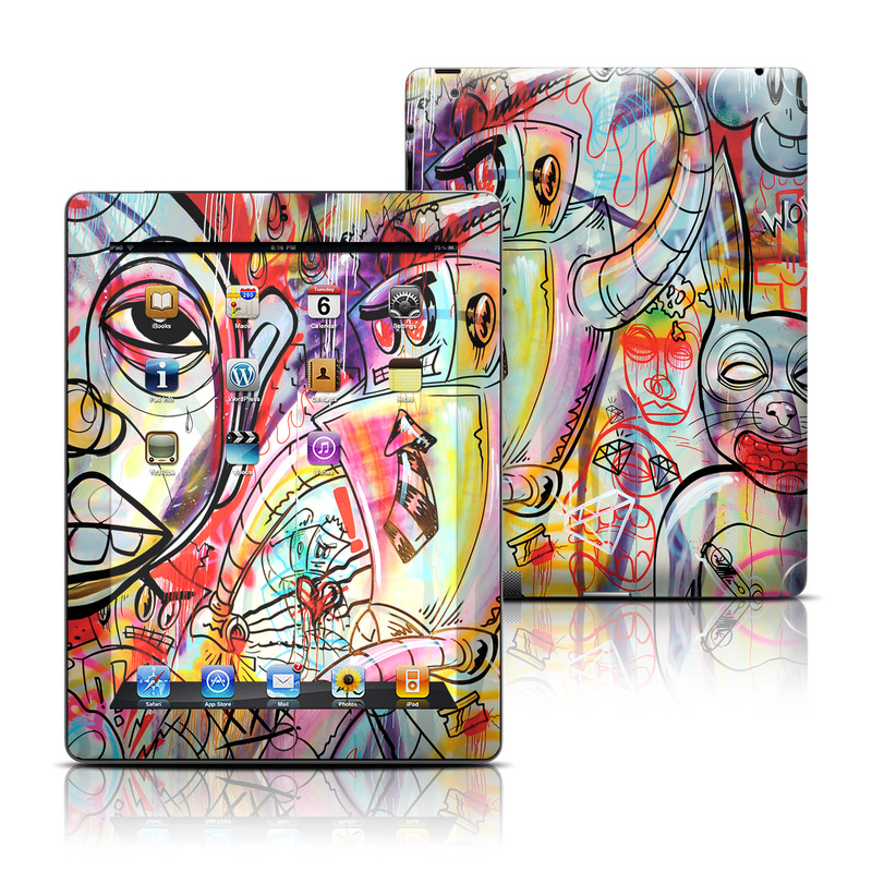 Battery Acid Meltdown iPad 3rd & 4th Gen Skin
