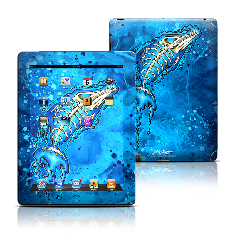 Barracuda Bones iPad 3rd & 4th Gen Skin