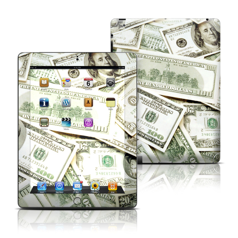 Benjamins Apple iPad Skin