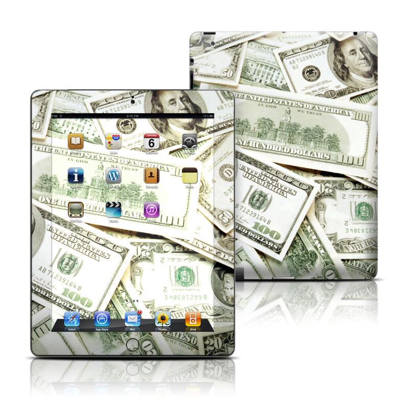 Benjamins iPad Skin