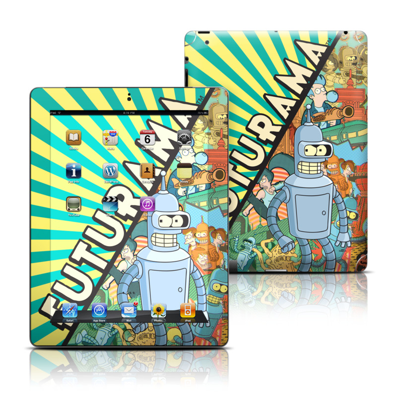 Bender Apple iPad Skin