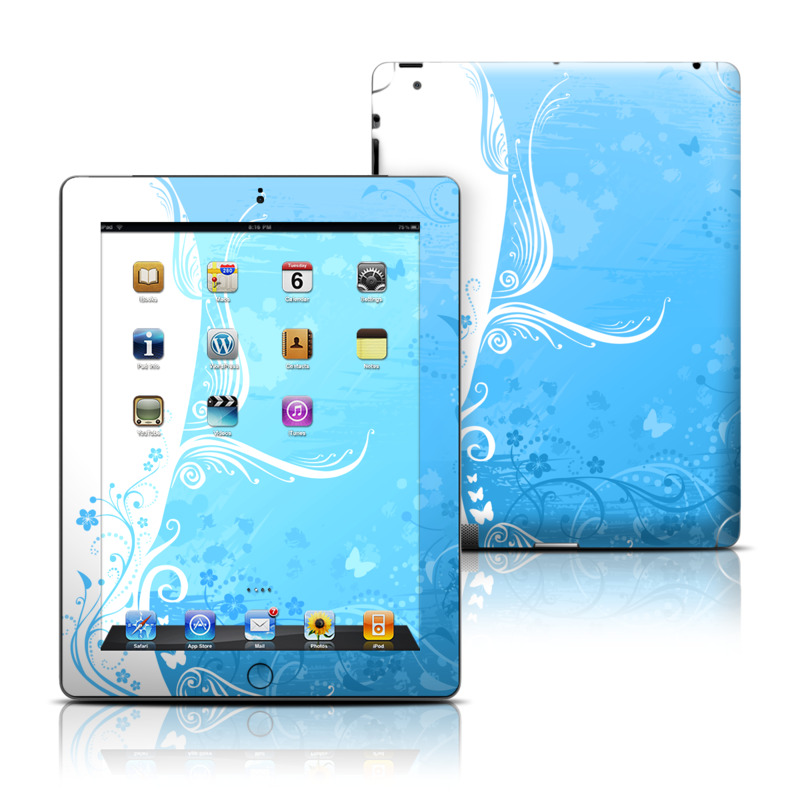 Blue Crush iPad Skin
