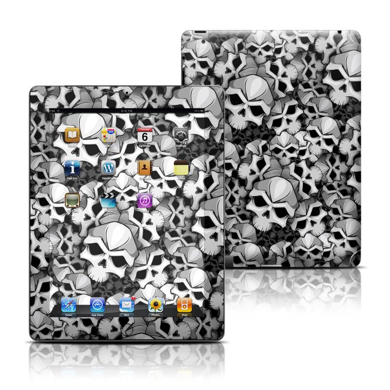 Bones Apple iPad Skin