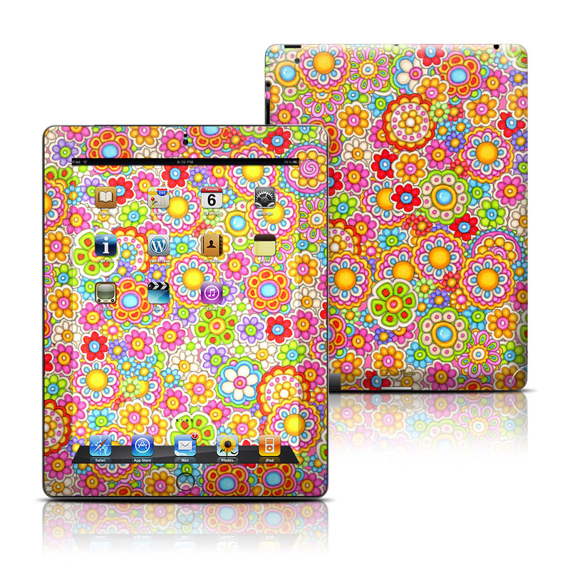 Bright Ditzy iPad Skin