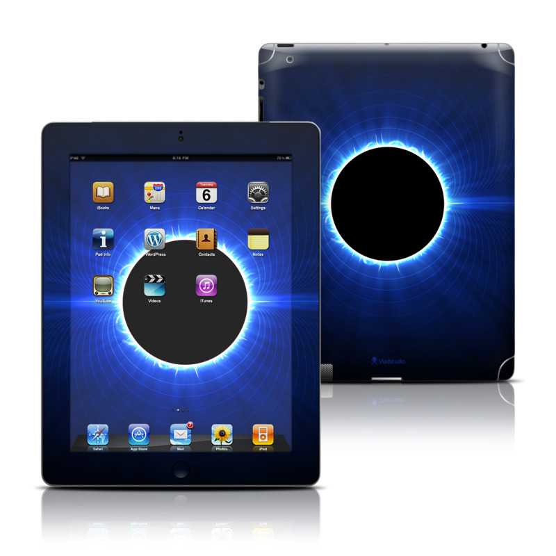 Blue Star Eclipse Apple iPad Skin