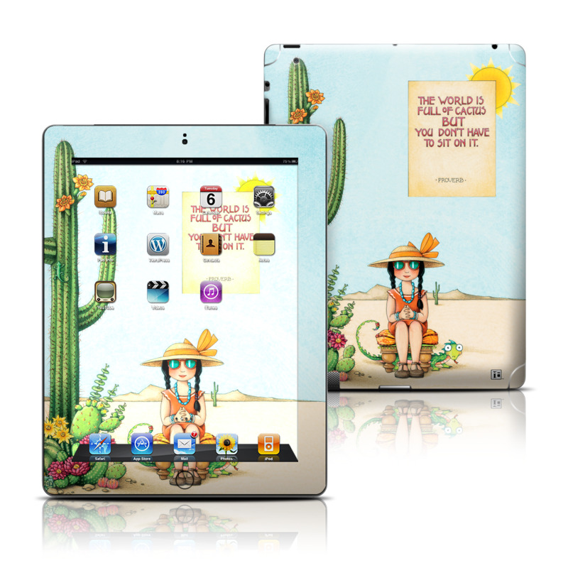 Cactus iPad 3rd & 4th Gen Skin