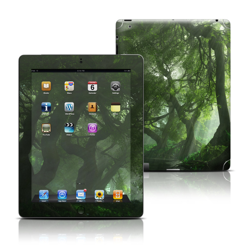 Canopy Creek Spring Apple iPad Skin