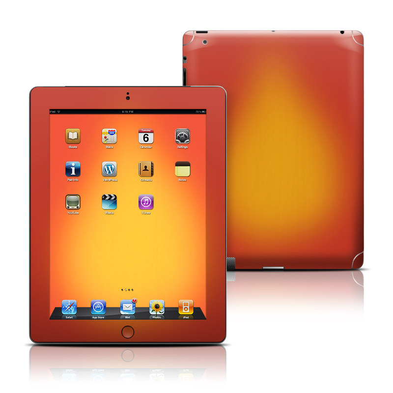 Cherry Sunburst iPad 3rd & 4th Gen Skin