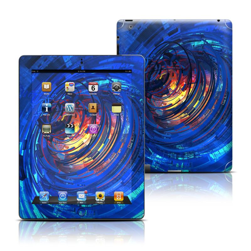Clockwork Apple iPad Skin