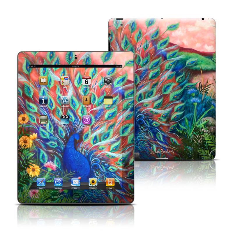 Coral Peacock iPad 3rd & 4th Gen Skin