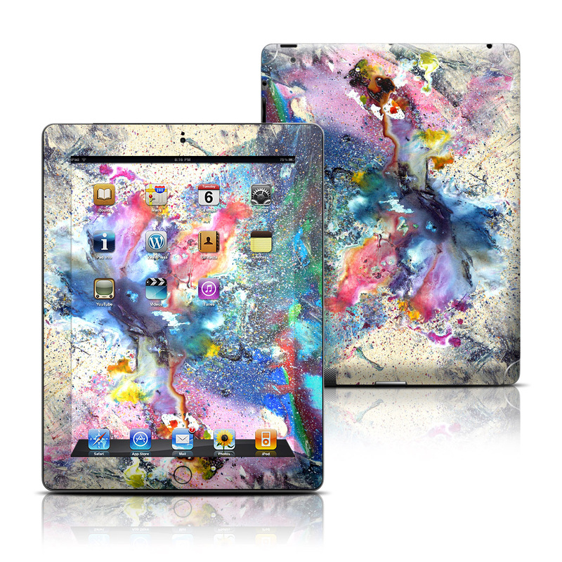 Cosmic Flower iPad 3rd & 4th Gen Skin