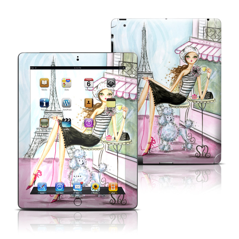 Cafe Paris iPad 3rd & 4th Gen Skin