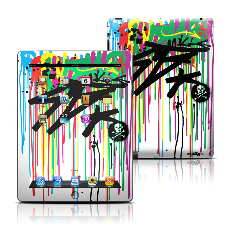 Colour Rain iPad 3rd & 4th Gen Skin