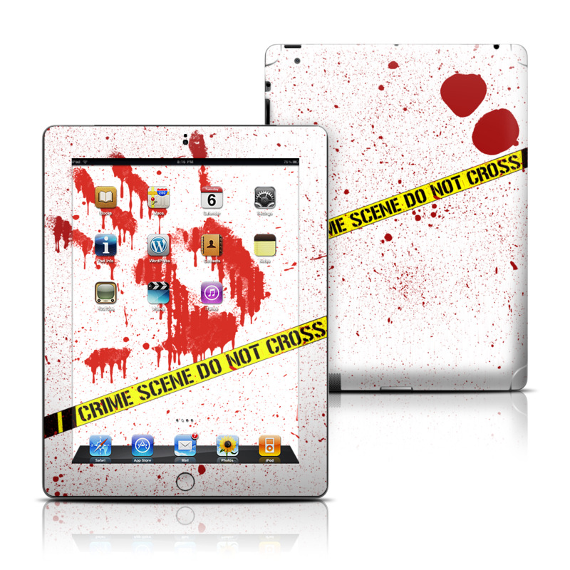 Crime Scene Revisited Apple iPad Skin