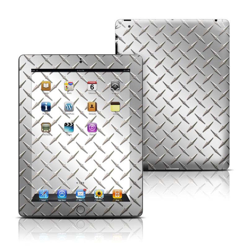 Diamond Plate Apple iPad Skin