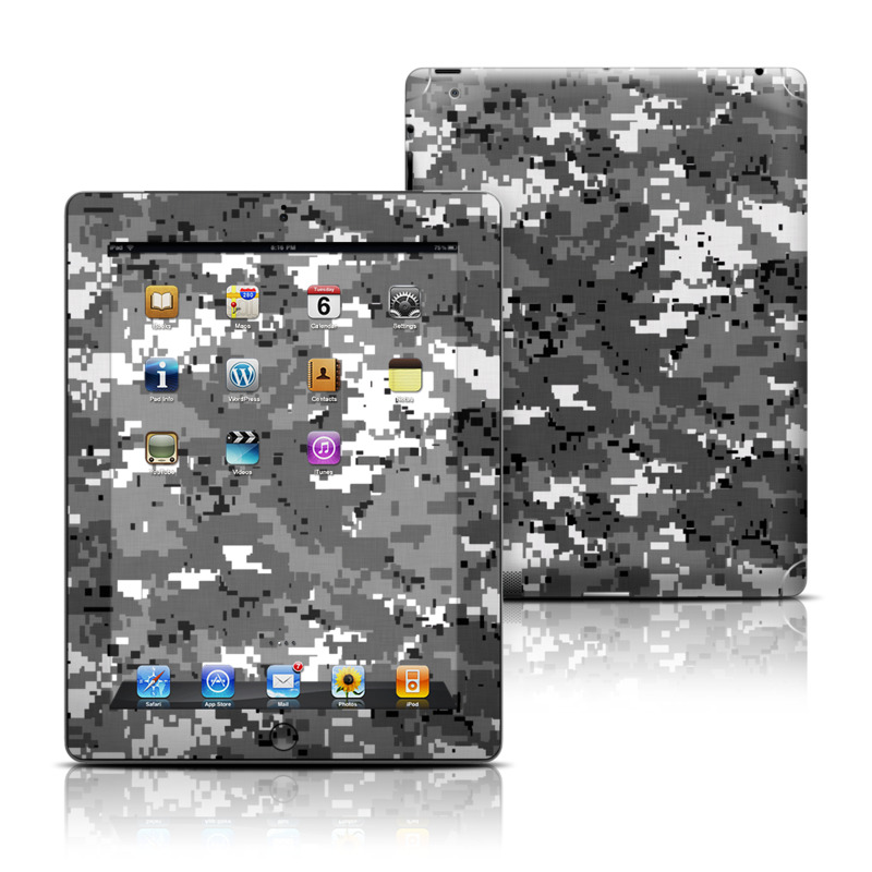 Digital Urban Camo iPad Skin