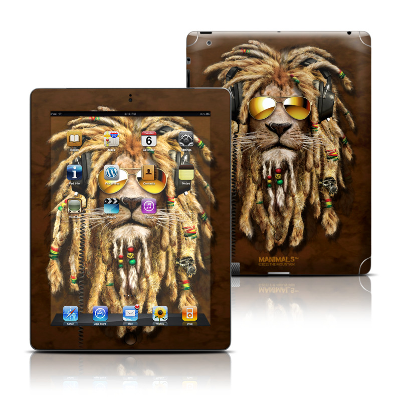 DJ Jahman Apple iPad Skin