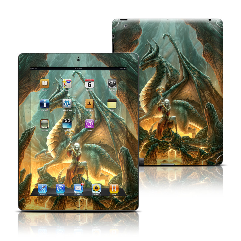 Dragon Mage iPad Skin