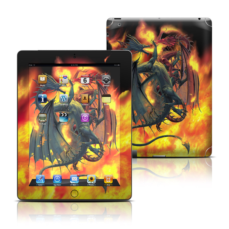 Dragon Wars Apple iPad Skin