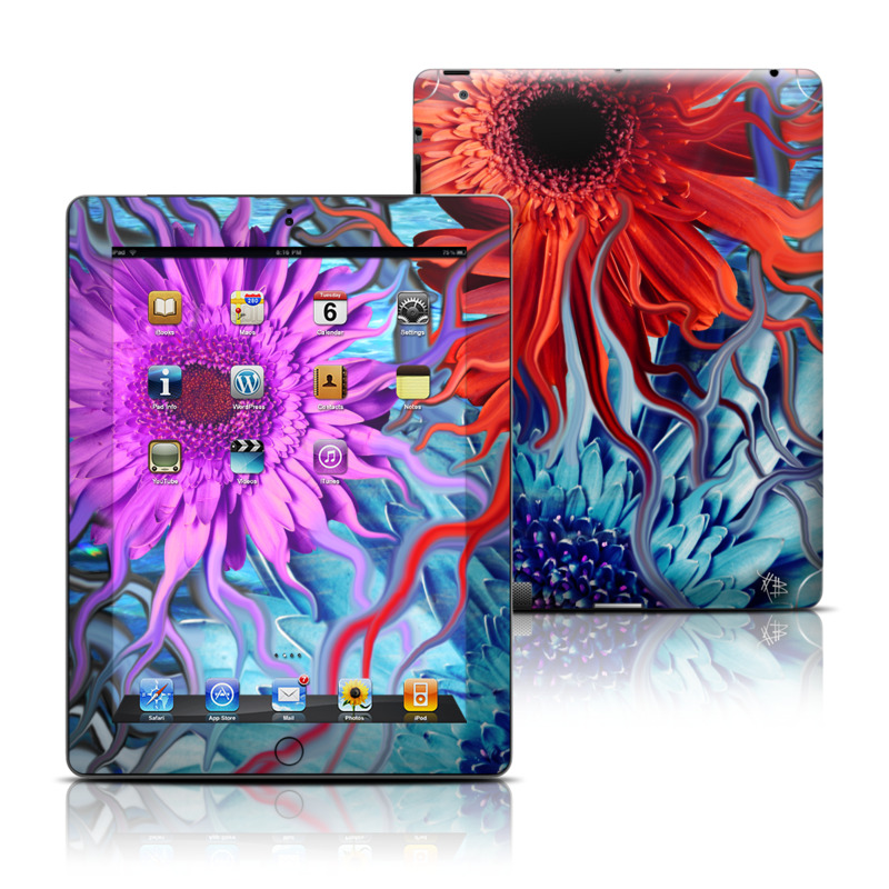 Deep Water Daisy Dance Apple iPad Skin