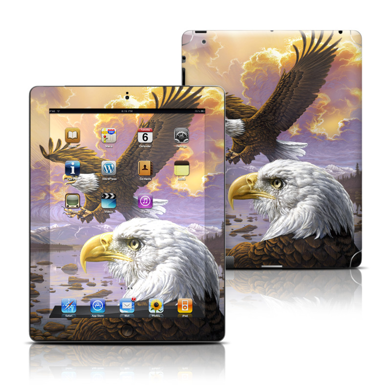 Eagle Apple iPad Skin