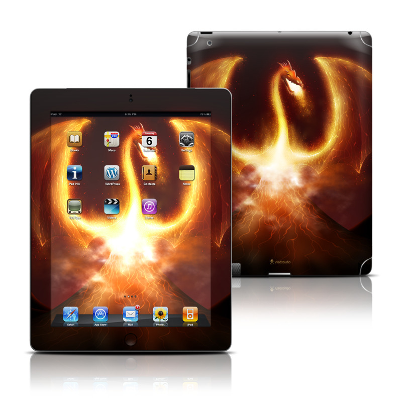 Fire Dragon iPad 3rd & 4th Gen Skin