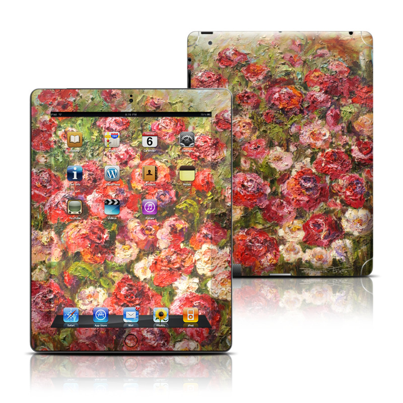 Fleurs Sauvages Apple iPad Skin