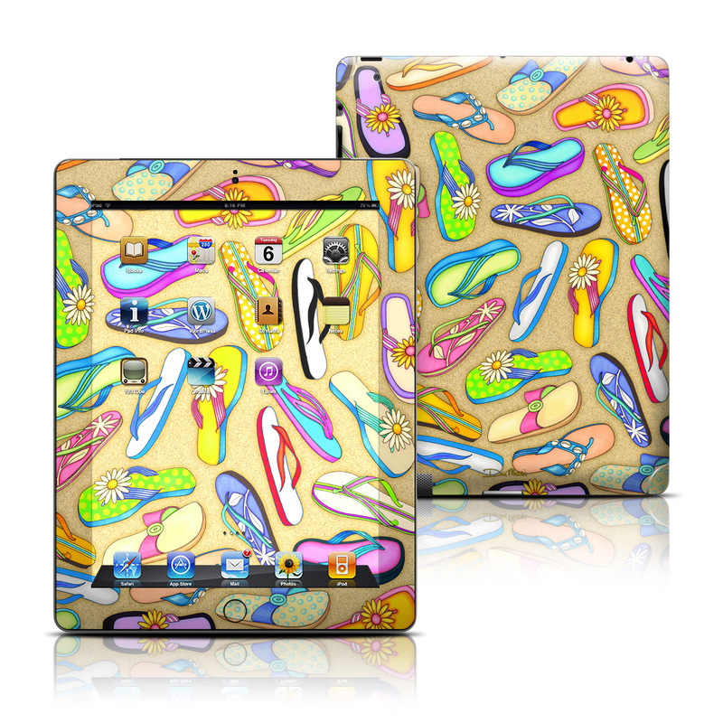 Flip Flops iPad 3rd & 4th Gen Skin