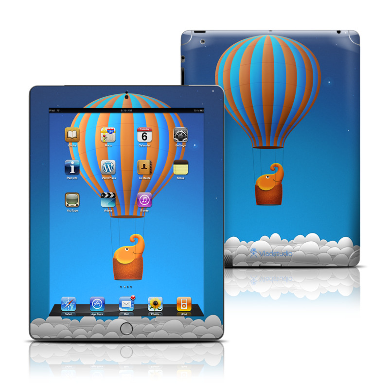 Flying Elephant iPad 3rd & 4th Gen Skin