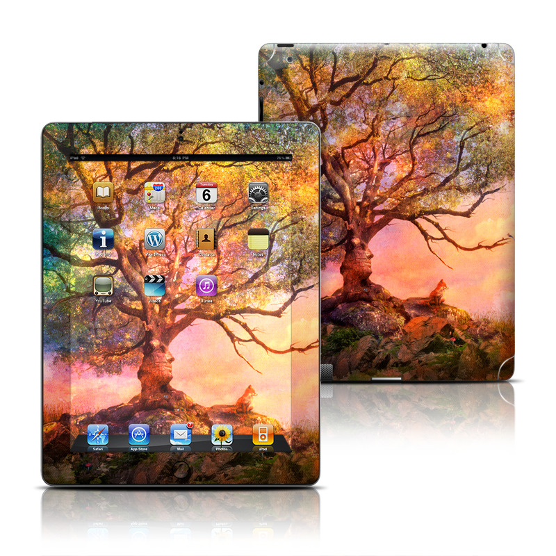Fox Sunset Apple iPad Skin