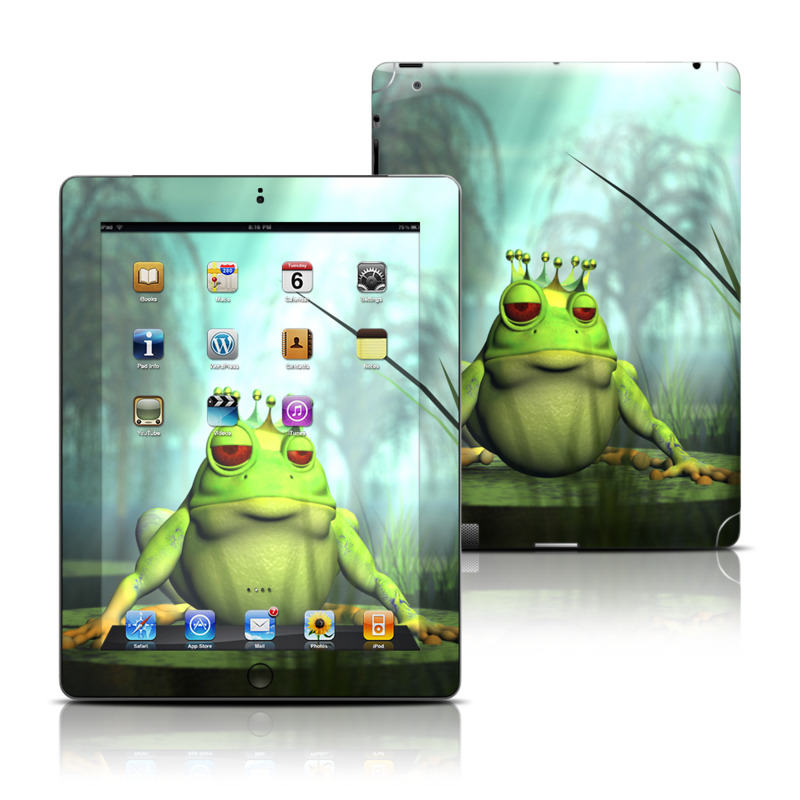 Frog Prince Apple iPad Skin