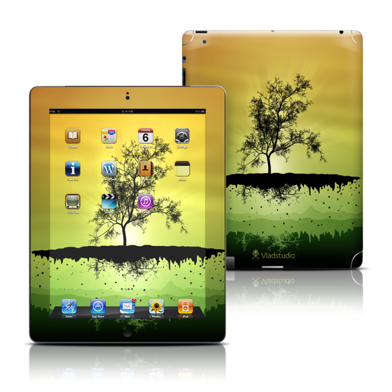 Flying Tree Amber iPad 3rd & 4th Gen Skin
