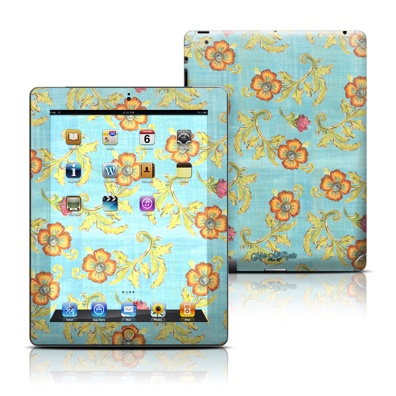 Garden Jewel iPad 3rd & 4th Gen Skin